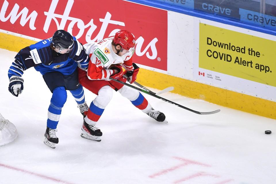 Россия проиграла Финляндии 1:4 в матче за бронзу МЧМ-2021.
