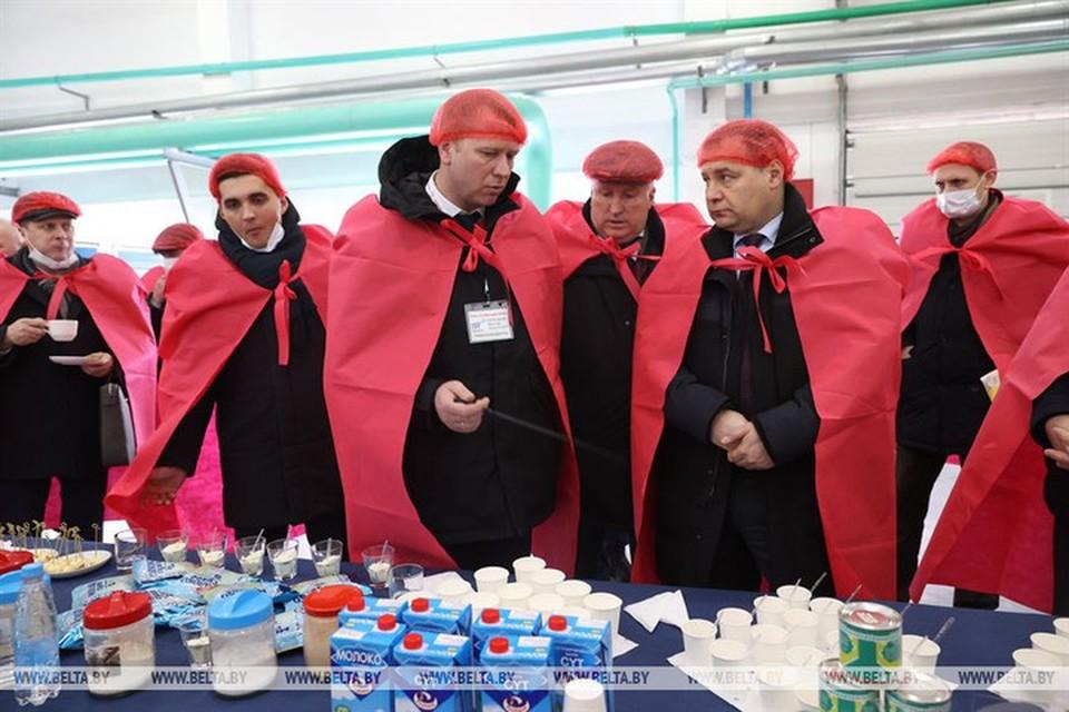 Головченко рассказал, сколько Беларуси удалось заработать в 2020 году на экспорте молочной продукции. Фото: БелТА