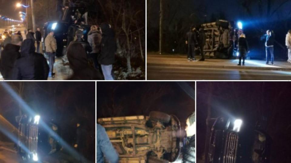 К счастью, водитель оказался трезвым (Фото: publika.md).