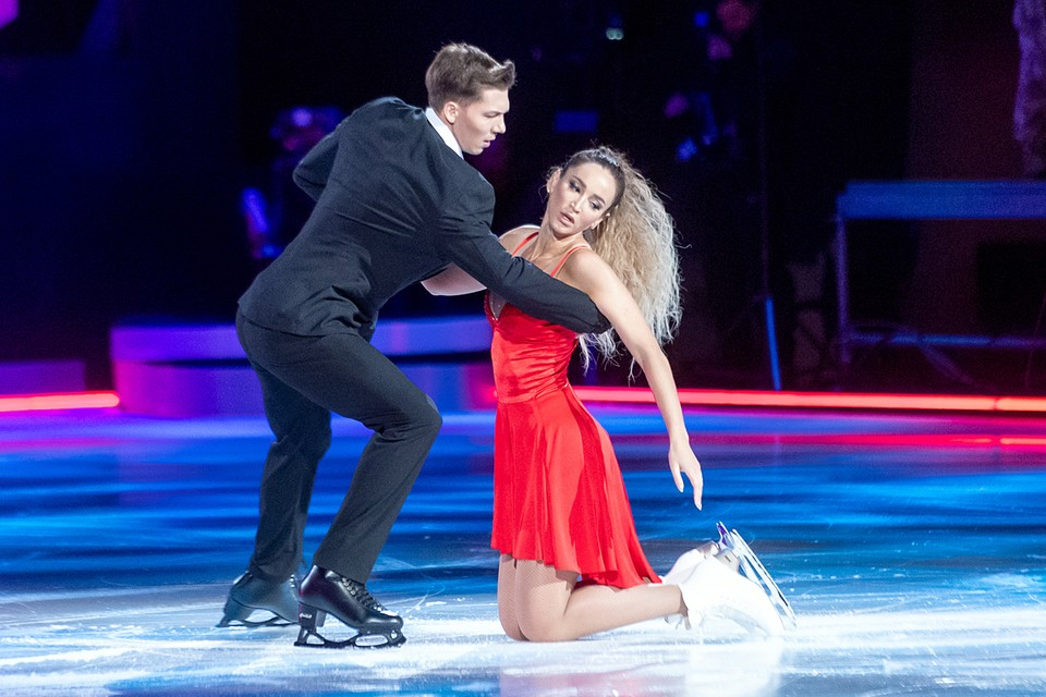 В шоу «Ледниковый период» Ольга пришла, совершенно не умея кататься на коньках. И в конце проекта сломала ребра