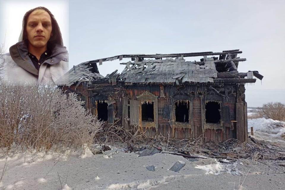 Сибиряк спас мужчину на пожаре. Фото: пресс-служба МЧС по НСО