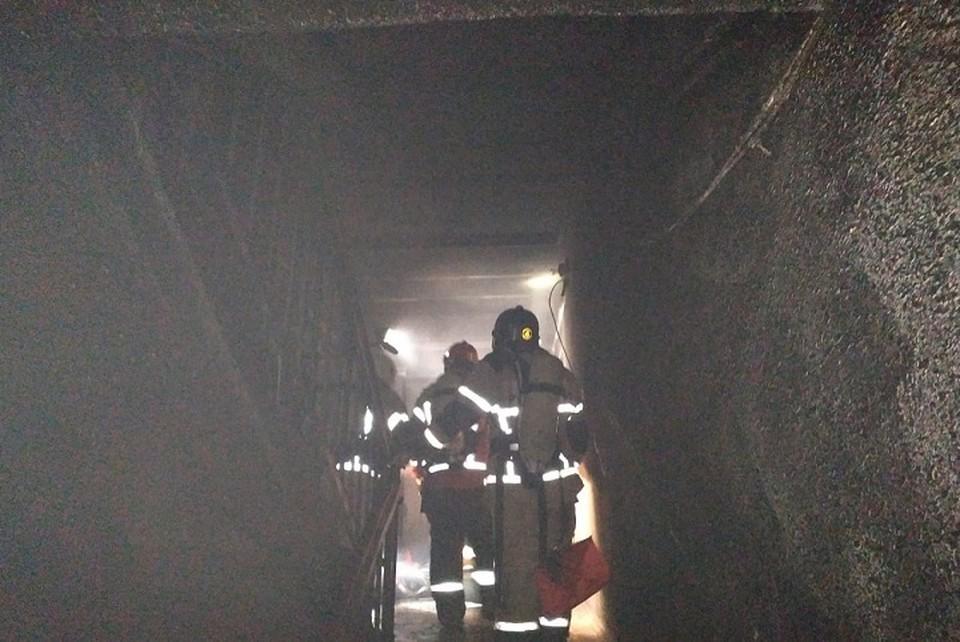 В ту ночь 17-летний Артем первым обнаружил пожар в своей квартире. Фото: предоставлено пресс-службой ГУ МЧС по Свердловской области