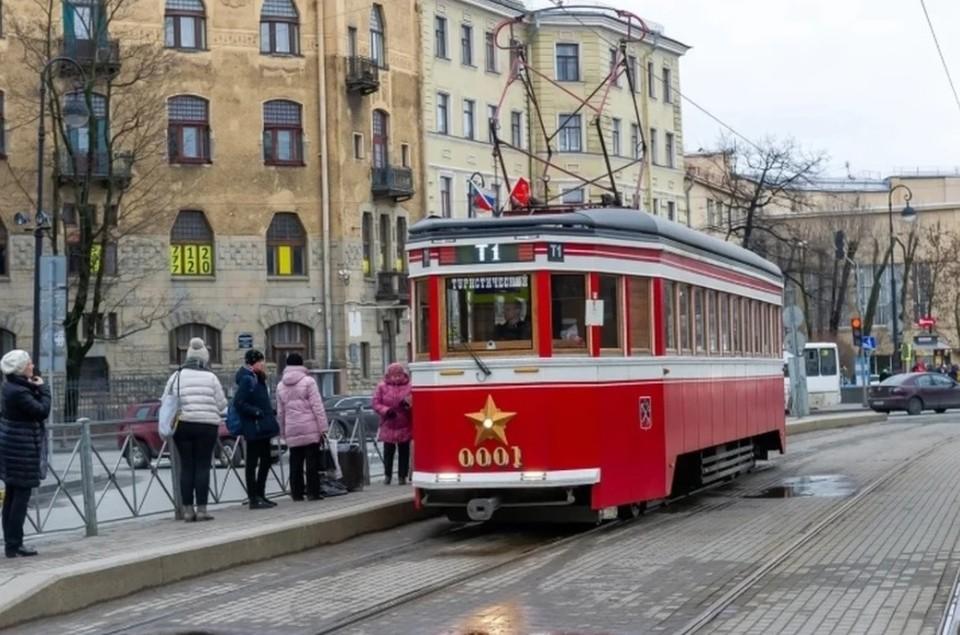 Ретро-трамвай пустят по улице Рождественской.