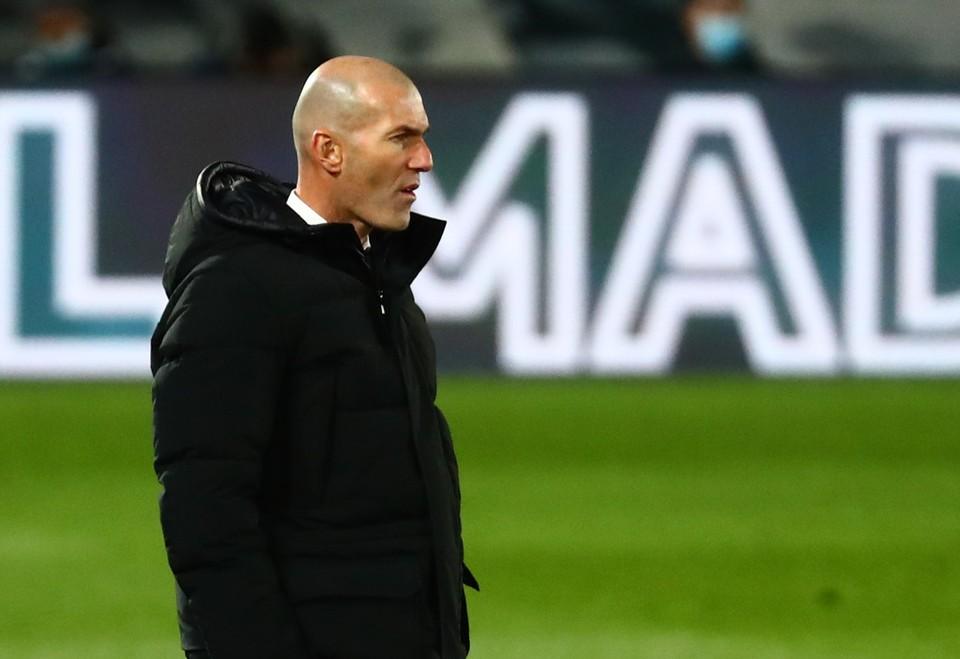 """Мадридский """"Реал"""" Зидана проведет поединок против """"Атлетика"""" в полуфинале Кубка Испании."""