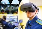 В небо с дополненной реальностью: челябинские курсанты-штурманы учатся летать на симуляторах