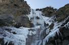 Настоящие крещенские морозы! Замерз самый большой в Крыму водопад