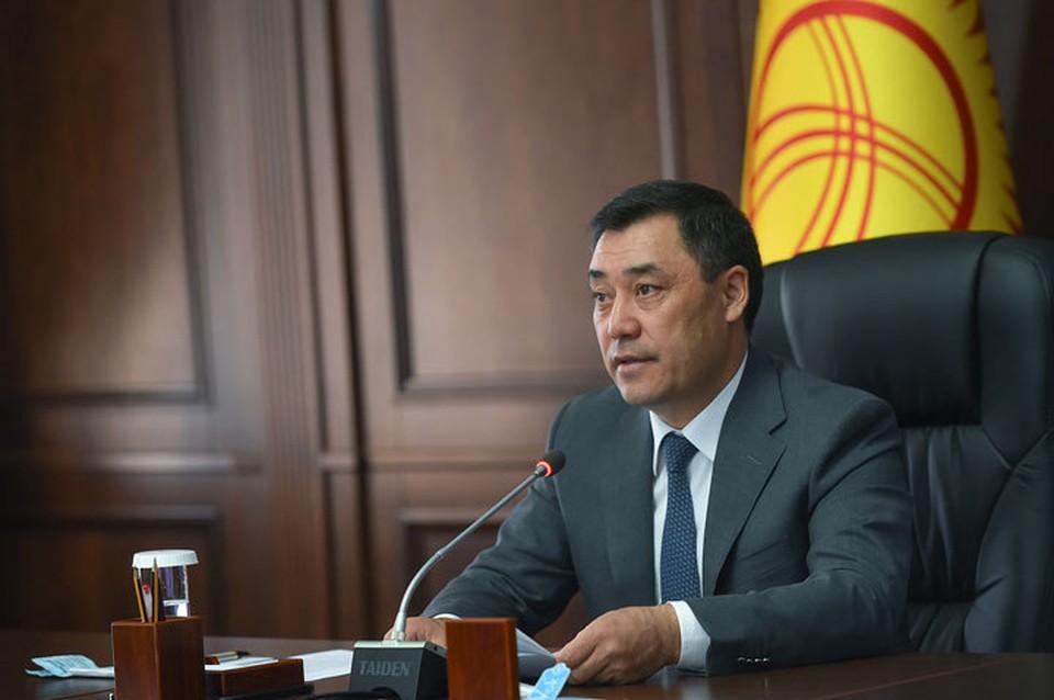 Жапаров сложил с себя полномочия главы правительства.