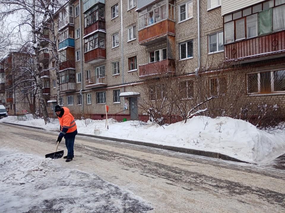 Автозаводские дворники, работу которых нижегородцы похвалили в социальных сетях, получат премию. Фото: Администрация Нижнего Новгорода