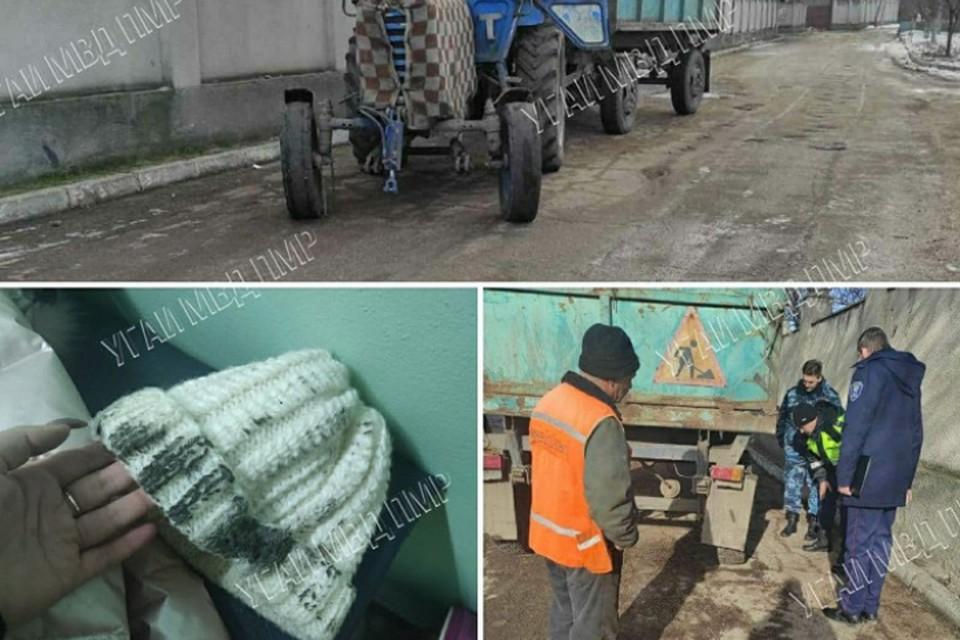 Кошмарный случай в Приднестровье: 9-летняя девочка подскользнулась у края дороги и попала под колесах трактора