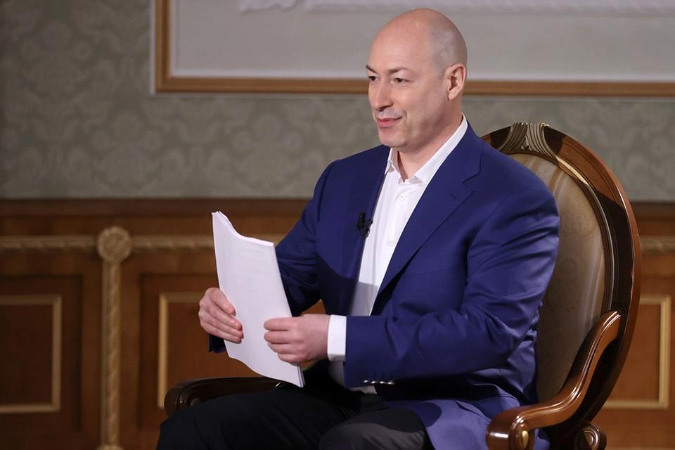 Скандально известный киевский журналист раскритиковал запрет обслуживания на русском. Фото: Николай Петров/БелТА/ТАСС
