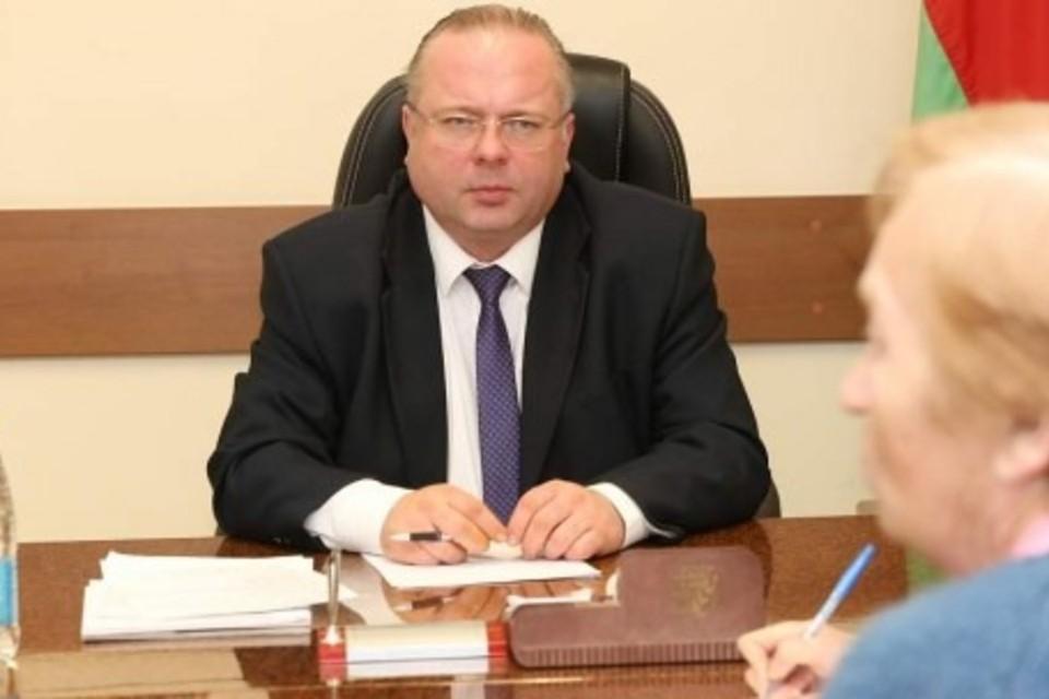 Раньше Василий Герасимов был помощником президента - инспектором по Брестской области и председателем КГК Гродненской области. Фото: grodno-region.gov.by
