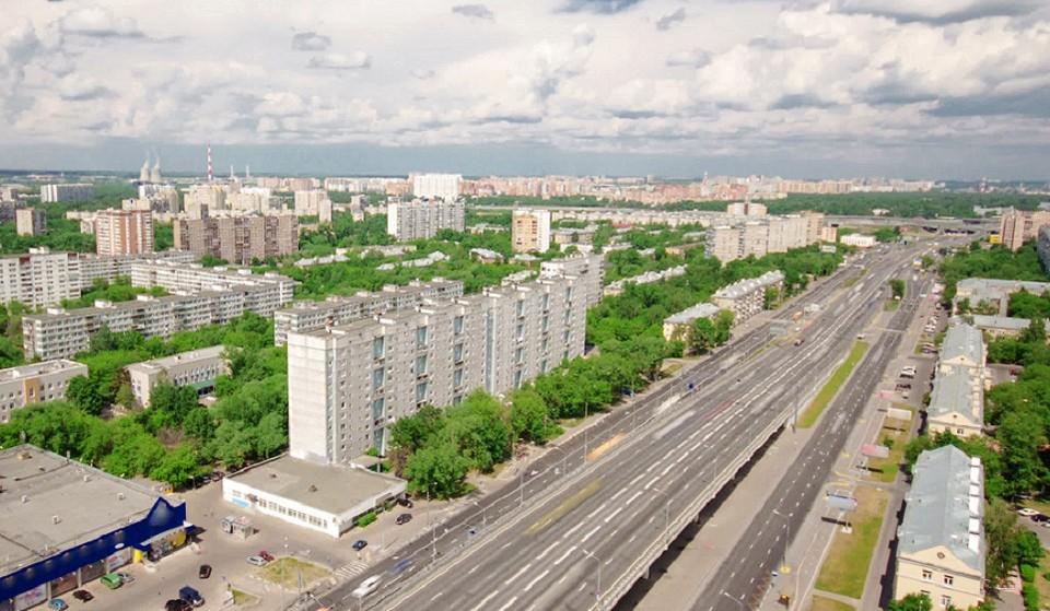 Ярославский район в Москве