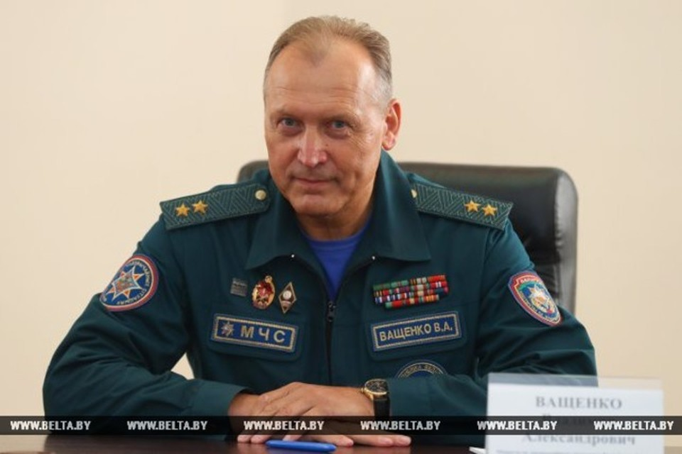 Лукашенко освободил от должности Министра по ЧС Ващенко. Фото: БелТА