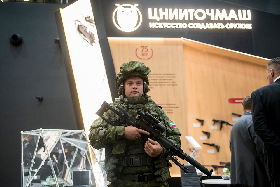 Для российских военных разработали полностью герметичную экипировку. Фото: Ростех