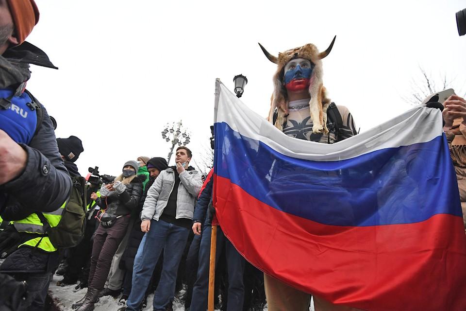 23 января в крупных городах России состоялись несанкционированные митинги.