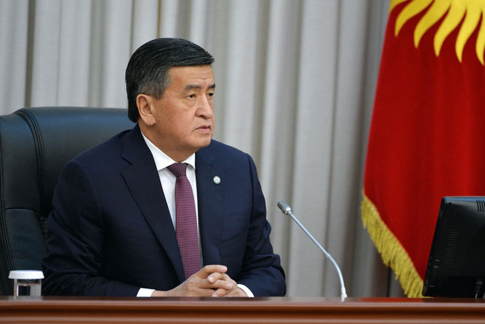 Жээнбеков покинул страну. Его пресс-секретарь уверяет, что поездка продлится недолго.