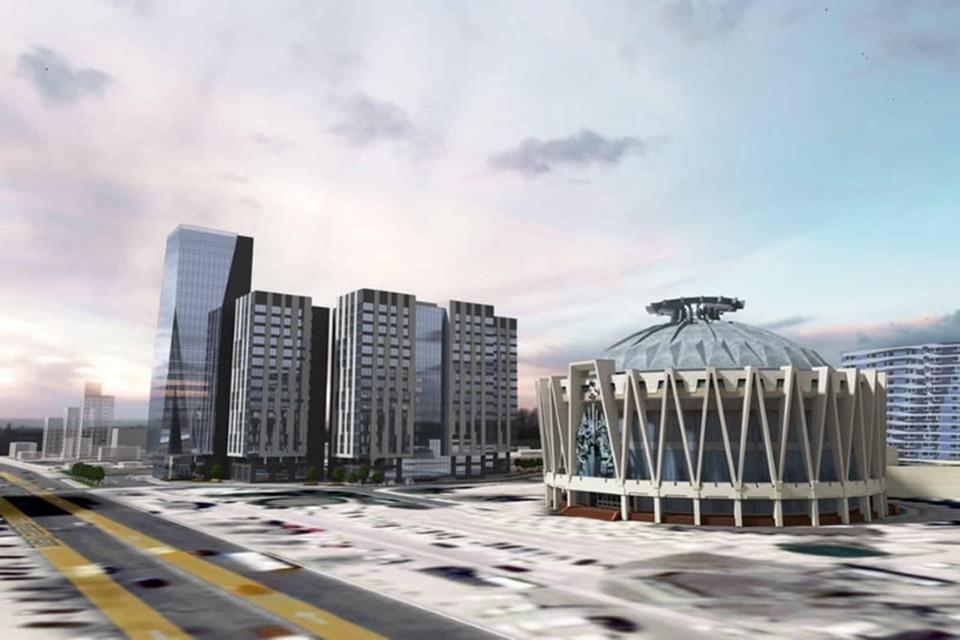 Проектировщики здания утверждают, что оно вида города не испортит.