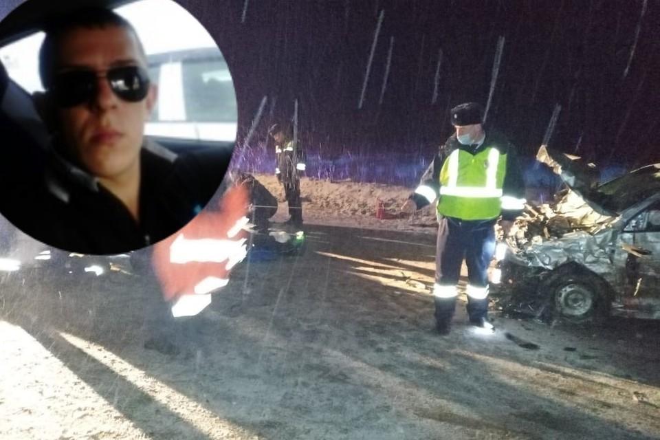 Очевидцы сообщили об аварии в 19:23. Фото: СОЦСЕТИ/ предоставлено Валерием Горелых