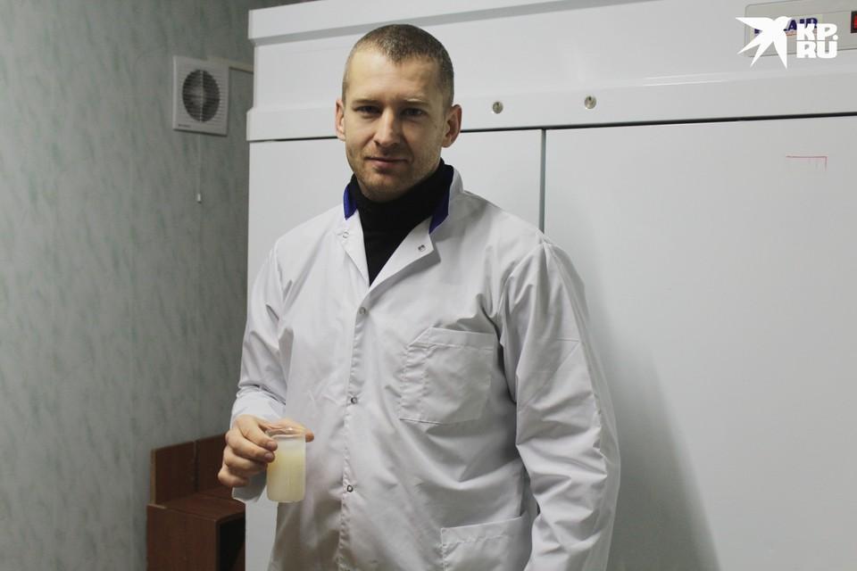 Станислав Сторублевцев, сотрудник Научно-образовательного центра «Живые системы».