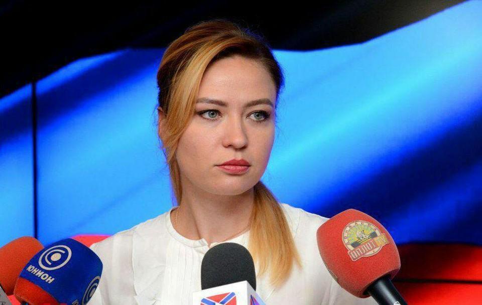 Наталья Юрьевна возмущена стратегией Украины. Фото: МИД ДНР