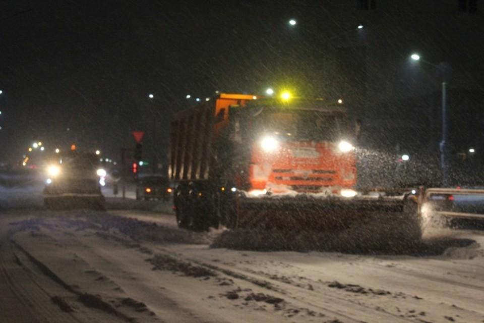 В Гродненской области за нерасчищенные в срок дороги привлекли к ответственности 27 должностных лиц. Фото: ГАИ УВД Гродненского облисполкома