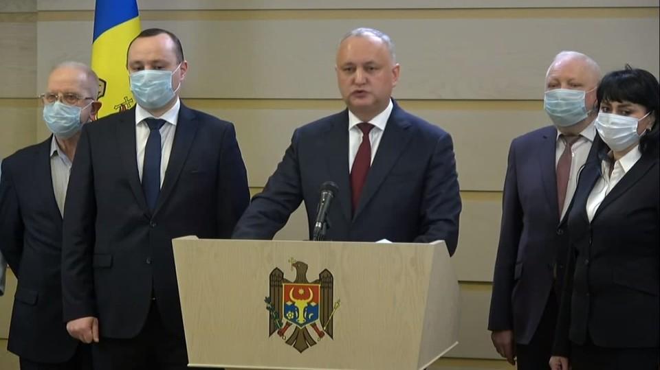 Игорь Додон: Мы не голосуем за правительство Гаврилицэ.