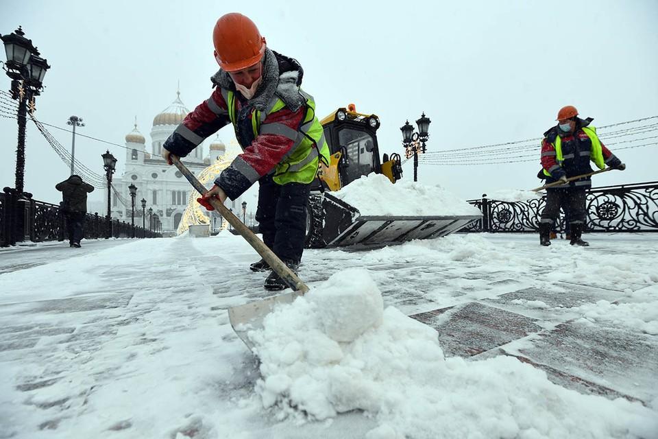 Вместе со снегопадом 11-13 февраля 2021 года в Москву придут аномальные холода