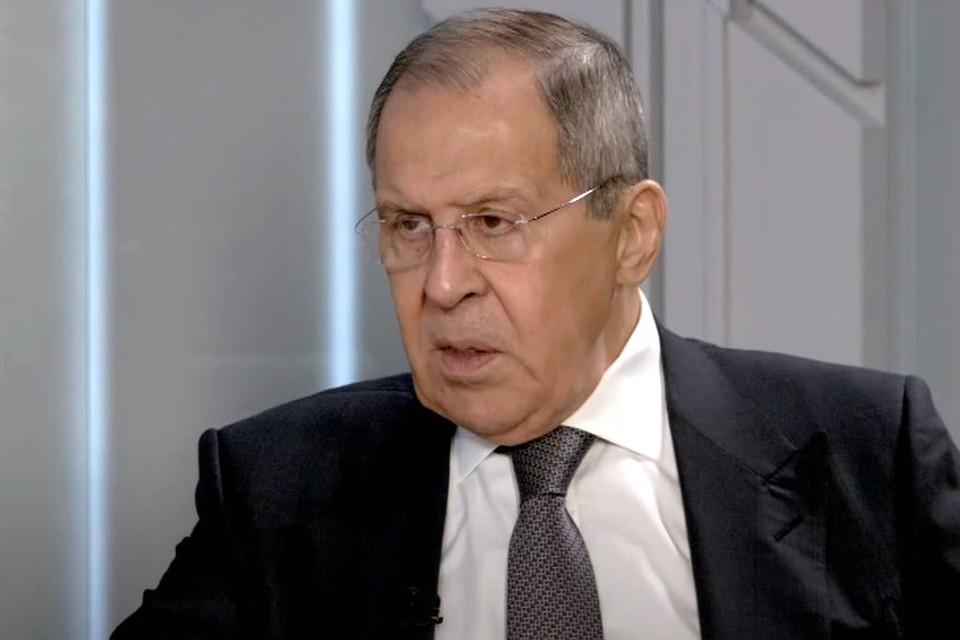 Глава МИД России Сергей Лавров дал интервью для Youtube-канала «Соловьев Live».