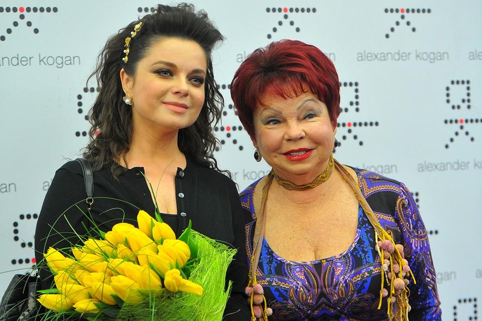 Певица Наташа Королева и ее мама Людмила Порывай.