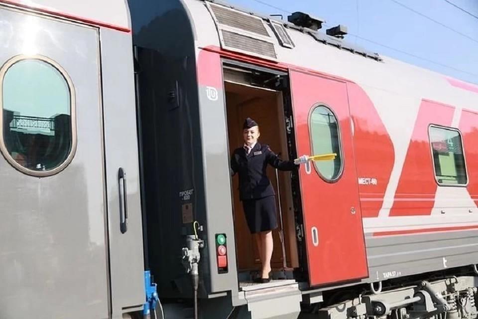 Поезд «Омск — Новосибирск» начнет работать по новому графику.