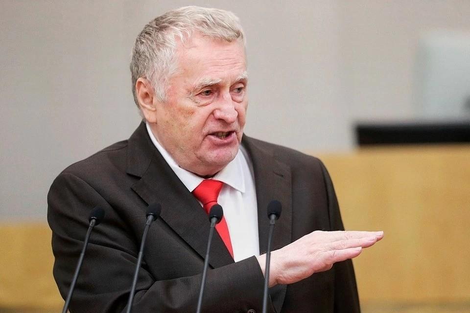 Глава ЛДПР ранее называл некорректным вмешательство Литвы в политику Беларуси. Фото: duma.gov.ru.