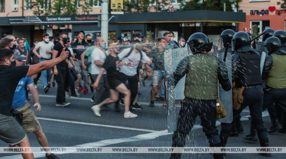 Участников протестов в Бресте 9-10 августа судят за массовые беспорядки. Фото: БелТА