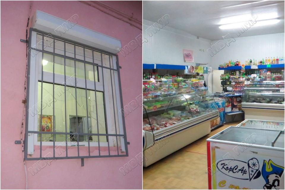 Хозяева магазина подсчитывают ущерб (Фото: МВД Приднестровья).