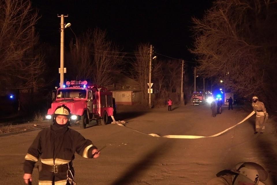 Взрыв произошел около полуночи 15 февраля. Фото: МЧС ЛНР