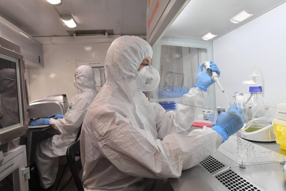 """Центр """"Вектор"""" подтвердил эффективность вакцин """"Спутник V"""" и """"Эпиваккорона"""" против британского штамма."""