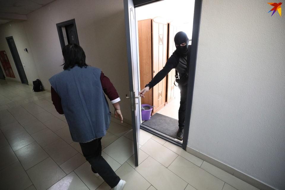 В офисе БАЖ в Минске тоже проходил обыск