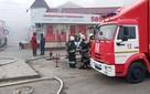 На пожаре на Качинском рынке в Волгограде погибла женщина
