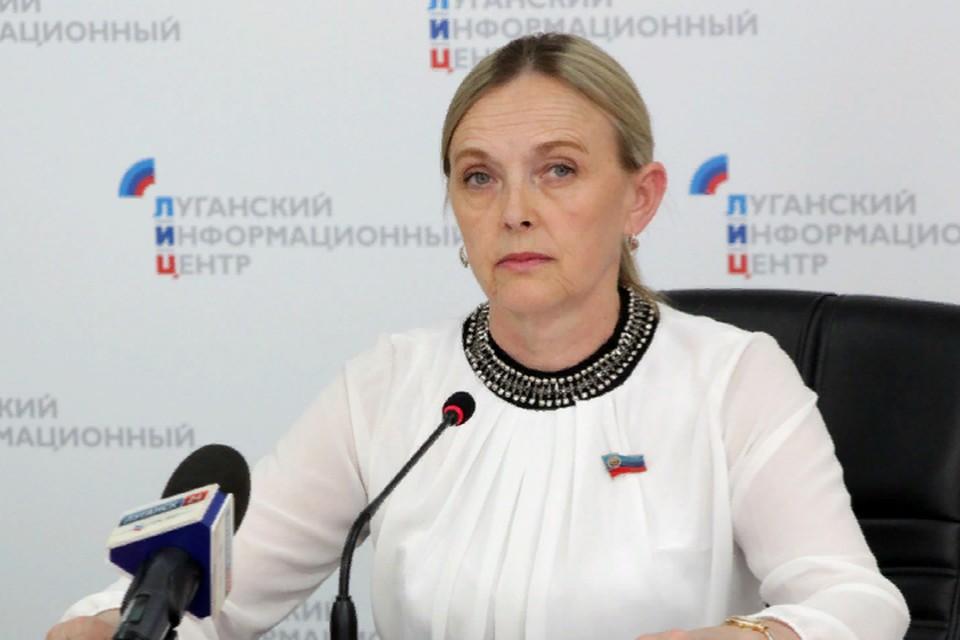 Представитель ЛНР Ольга Кобцева рассказала о переговорах с Украиной. Фото: ЛИЦ
