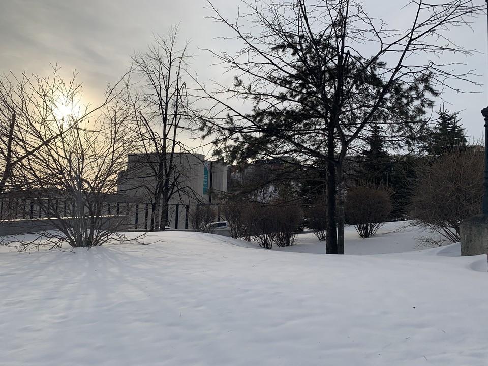 Сегодня в Приморье местами пройдет небольшой снег, это отголоски циклона, который сегодня покинет территорию края