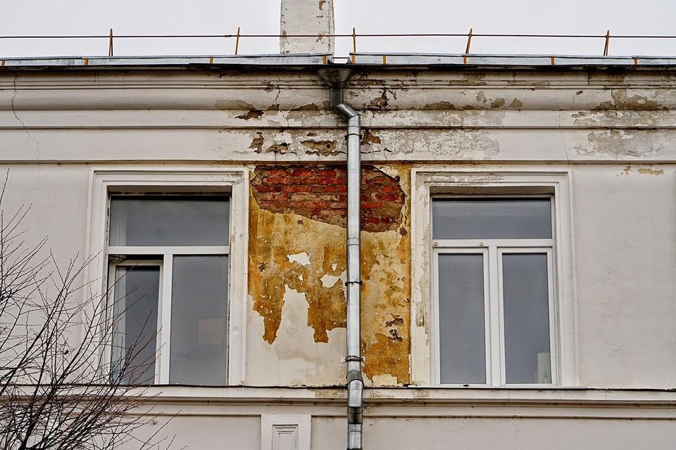 Жители Орла больше двухсот раз пожаловались на протекающие крыши