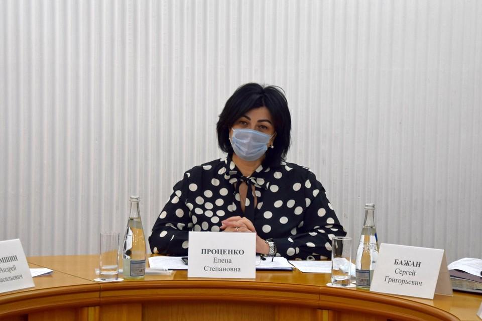 На посту главы администрации Симферополя Проценко проработала 1,5 года. Фото: facebook/Елена Проценко