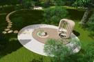В парке 50-летия ВЛКСМ появятся философский сад, диван-качели и шезлонги у пруда