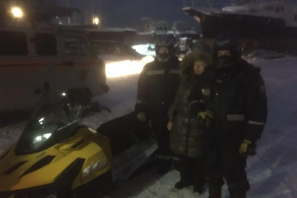 В Иркутске спасли пенсионерку, заблудившуюся в метель на льду водохранилища