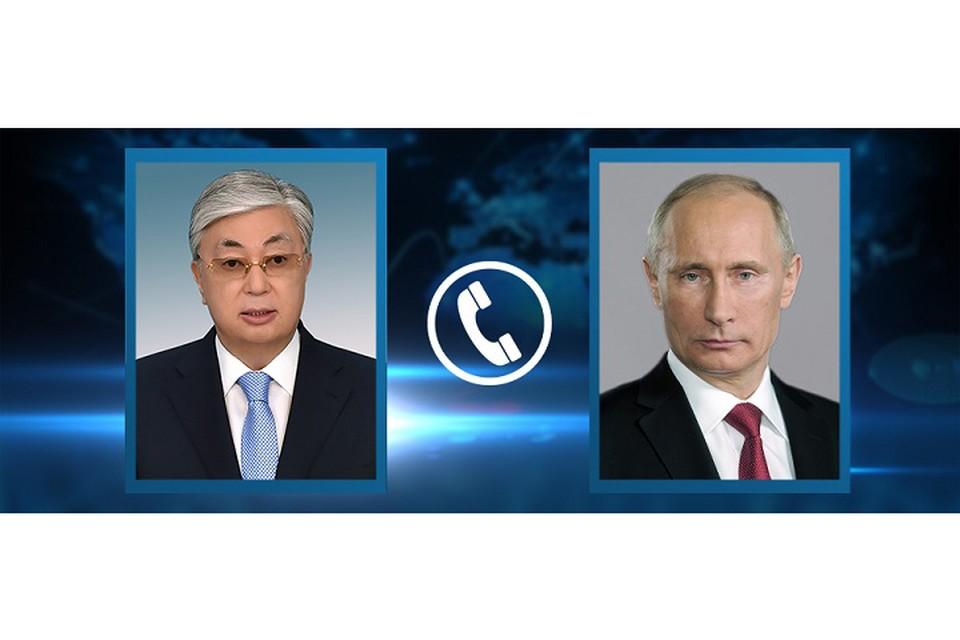 Президент Казахстана выразил удовлетворенность взаимодействием двух стран в противодействии пандемии.