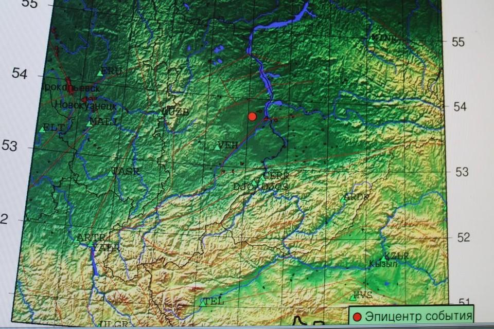 В Абакане местные жители приняли взрыв на угольном разрезе за землетрясение ФОТО: пресс-службе администрации Абакана