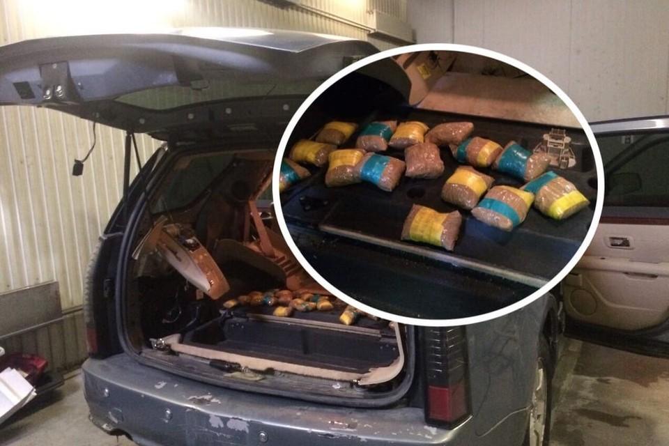 Наркокурьеру дали 3-килограммовый муляж наркотика. Фото: предоставил источник КП-Новосибирск