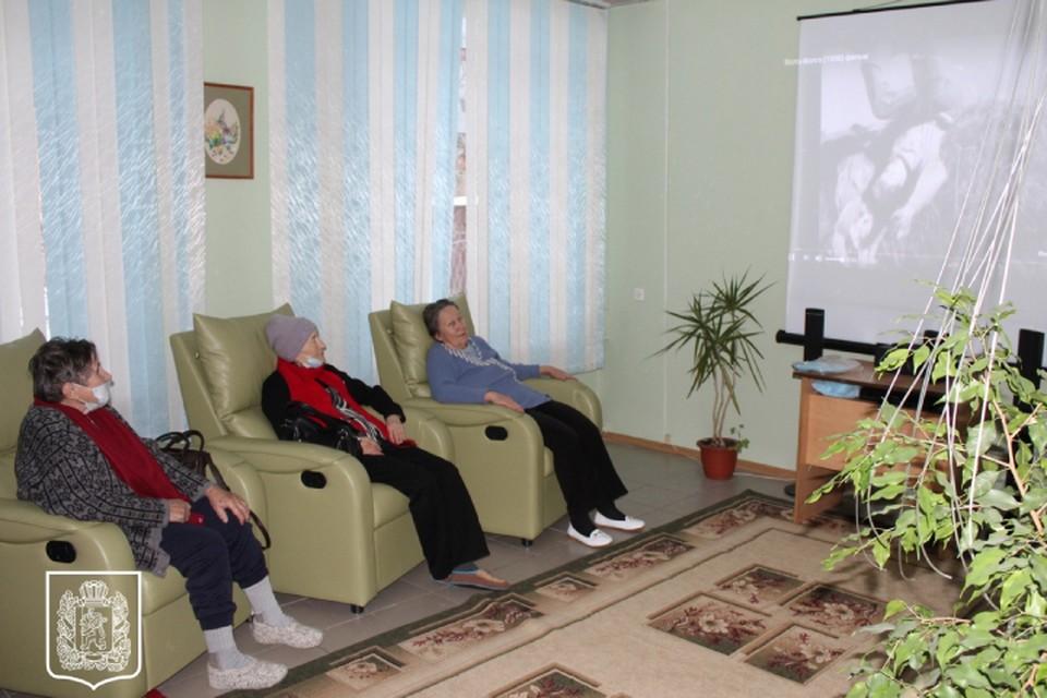 В Красноярске открыли первую группу дневного пребывания для пенсионеров с расстройствами памяти ФОТО: правительство Красноярского края
