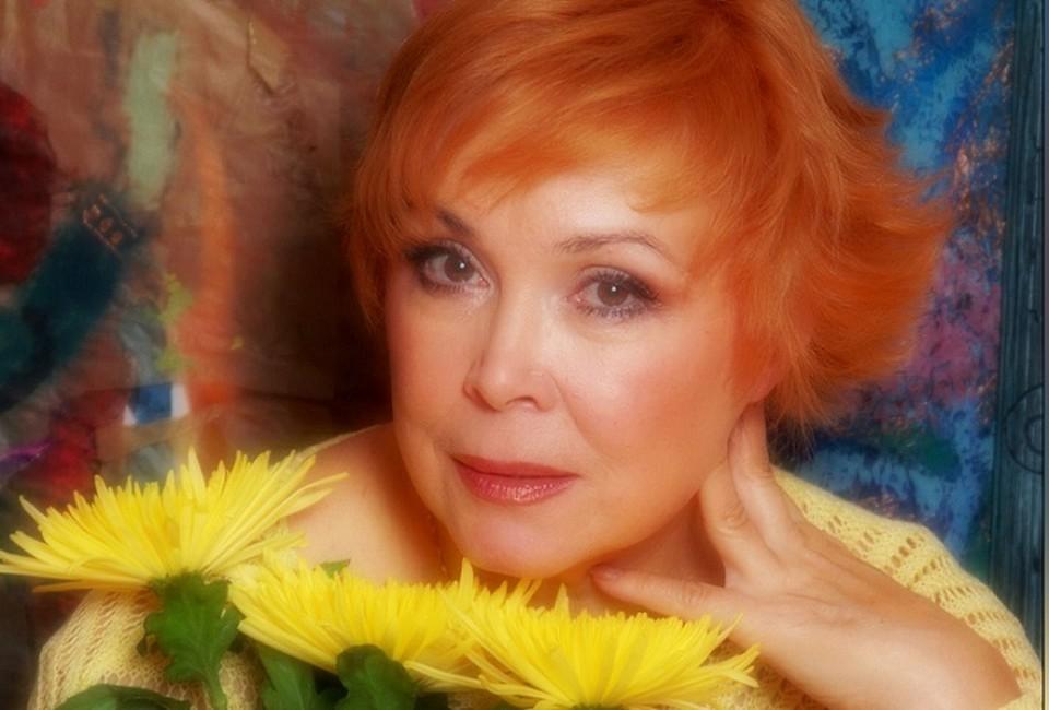 Заслуженная артистка России Ирина Джапакова