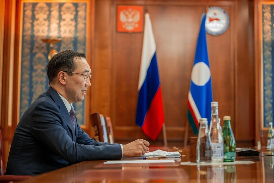 Глава Якутии Айсен Николаев. Автор фото: Андрей СОРОКИН/ЯСИА
