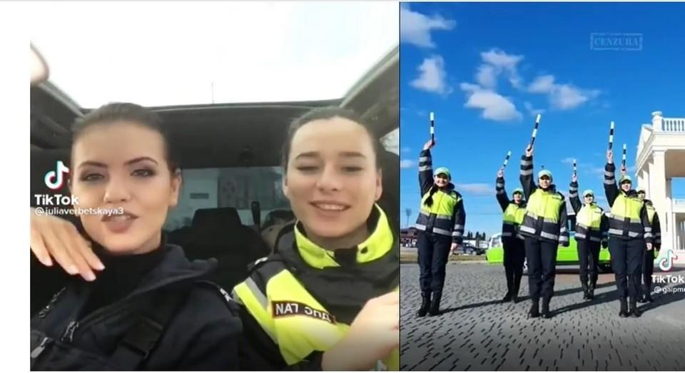 Приднестровские милиционеры любят и умеют развлекаться! (Фото: кадр с видео).